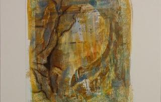 SAfrica Impression 1, 2006, 38 x 44 cm, Pigment/Kreide a.L.