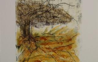 SAfrica Impression 4, 2006, 38 x 44 cm, Pigment/Kreide/Monotypie a.L.